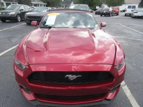 2015 Ford Mustang for sale at Maluda Auto Sales in Valdosta GA