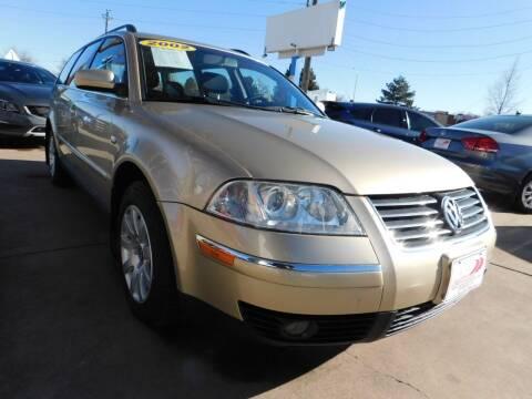 2002 Volkswagen Passat for sale at AP Auto Brokers in Longmont CO