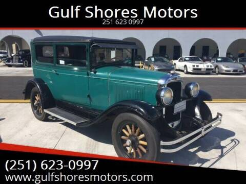 1928 Pontiac Chieftain for sale at Gulf Shores Motors in Gulf Shores AL
