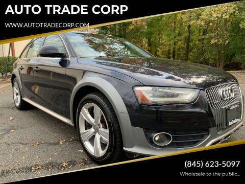 2014 Audi Allroad for sale at AUTO TRADE CORP in Nanuet NY
