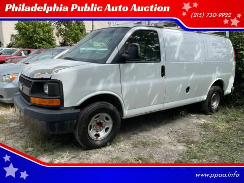 2008 Chevrolet Express Cargo for sale at Philadelphia Public Auto Auction in Philadelphia PA