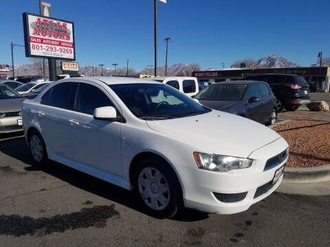 2011 Mitsubishi Lancer for sale at ATLAS MOTORS INC in Salt Lake City UT