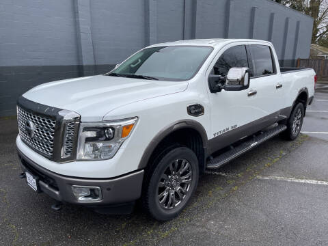 2016 Nissan Titan XD for sale at APX Auto Brokers in Lynnwood WA