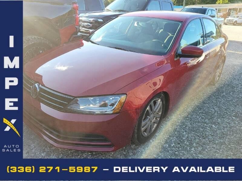 2017 Volkswagen Jetta for sale at Impex Auto Sales in Greensboro NC