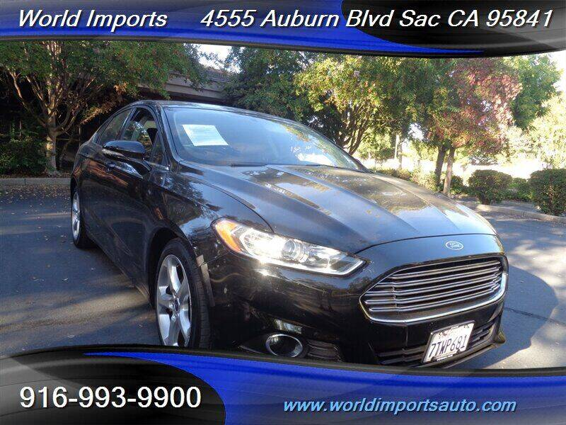 2016 Ford Fusion for sale at World Imports in Sacramento CA