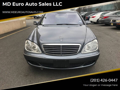 2006 Mercedes-Benz S-Class for sale at MD Euro Auto Sales LLC in Hasbrouck Heights NJ