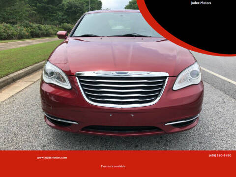 2012 Chrysler 200 for sale at Judex Motors in Loganville GA