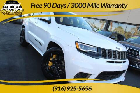 2018 Jeep Grand Cherokee for sale at West Coast Auto Sales Center in Sacramento CA