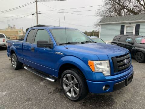 2010 Ford F-150 for sale at LINDER'S AUTO SALES in Gastonia NC