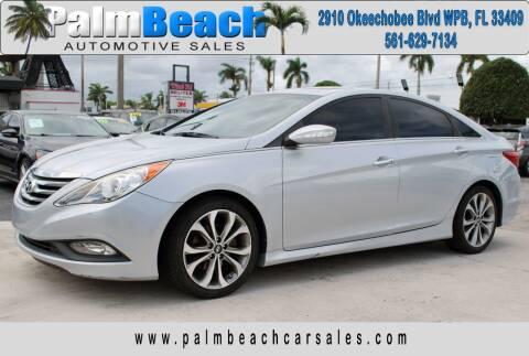 2014 Hyundai Sonata for sale at Palm Beach Automotive Sales in West Palm Beach FL