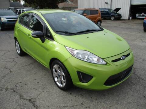 2012 Ford Fiesta for sale at RJ Motors in Plano IL