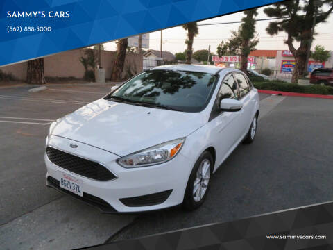 """2016 Ford Focus for sale at SAMMY""""S CARS in Bellflower CA"""