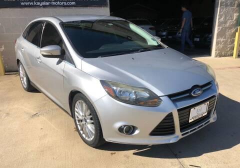 2014 Ford Focus for sale at KAYALAR MOTORS - ECUFAST HOUSTON in Houston TX