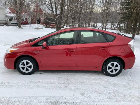 2013 Toyota Prius for sale at MICHAEL MOTORS in Farmington ME
