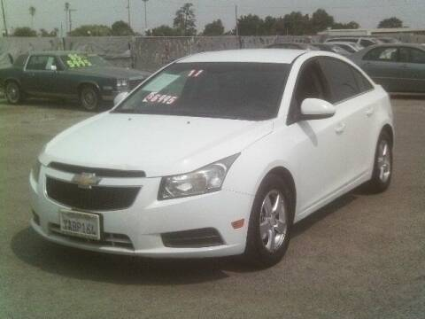 2011 Chevrolet Cruze for sale at Valley Auto Sales & Advanced Equipment in Stockton CA