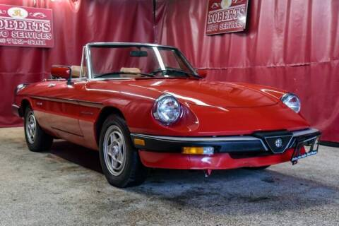 1986 Alfa Romeo Spider for sale at Roberts Auto Services in Latham NY