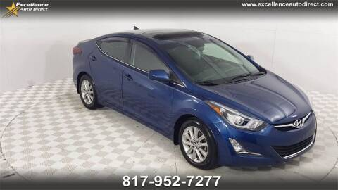 2015 Hyundai Elantra for sale at Excellence Auto Direct in Euless TX
