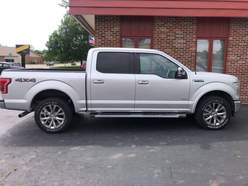 2017 Ford F-150 for sale at Tonys Car Sales in Richmond IN