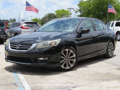 2014 Honda Accord for sale at DK Auto Sales in Hollywood FL