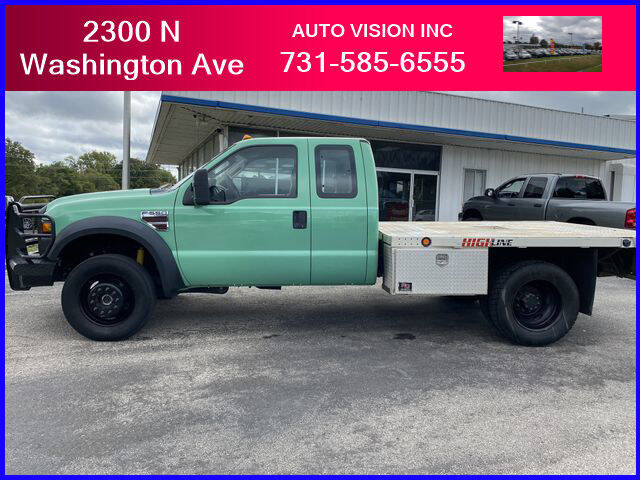 2009 Ford F-550 Super Duty for sale at Auto Vision Inc. in Brownsville TN