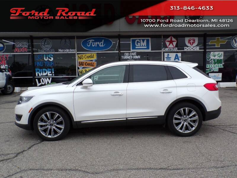 2017 Lincoln MKX for sale at Ford Road Motor Sales in Dearborn MI