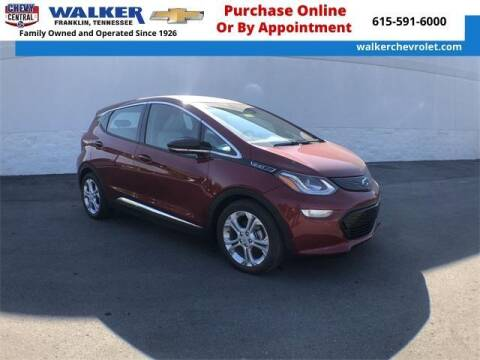 2020 Chevrolet Bolt EV for sale at WALKER CHEVROLET in Franklin TN