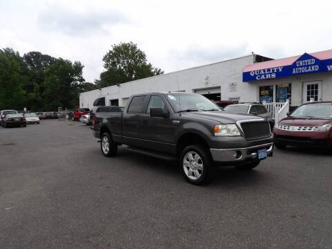 2008 Ford F-150 for sale at United Auto Land in Woodbury NJ