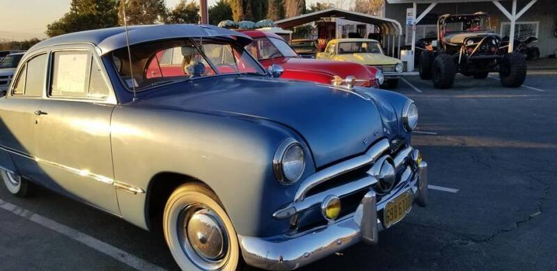 1949 Ford Deluxe for sale at Vehicle Liquidation in Littlerock CA