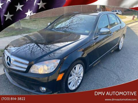 2009 Mercedes-Benz C-Class for sale at DMV Automotive in Falls Church VA