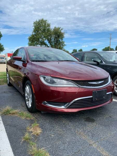 2015 Chrysler 200 for sale at City to City Auto Sales in Richmond VA