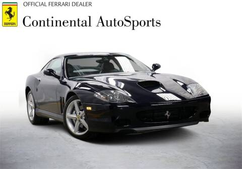 2002 Ferrari 575M for sale at CONTINENTAL AUTO SPORTS in Hinsdale IL