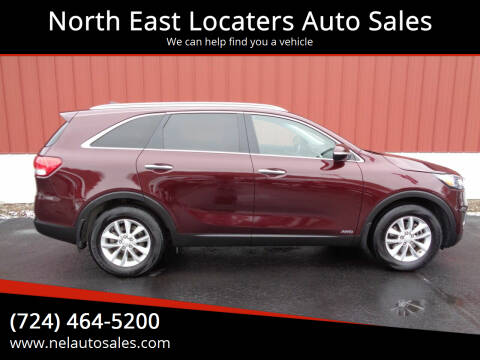 2016 Kia Sorento for sale at North East Locaters Auto Sales in Indiana PA