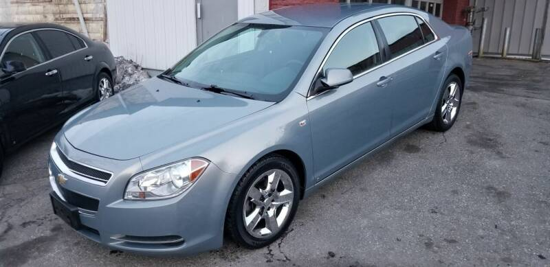 2008 Chevrolet Malibu for sale at Howe's Auto Sales in Lowell MA