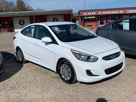 2017 Hyundai Accent for sale at CAR CORNER in Van Buren AR