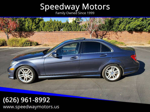 2014 Mercedes-Benz C-Class for sale at Speedway Motors in Glendora CA