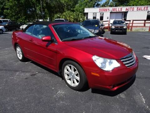 2008 Chrysler Sebring for sale at DONNY MILLS AUTO SALES in Largo FL