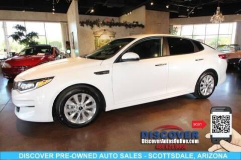 2018 Kia Optima for sale at Discover Pre-Owned Auto Sales in Scottsdale AZ