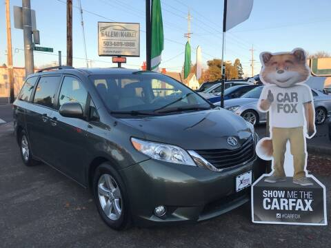 2012 Toyota Sienna for sale at Salem Auto Market in Salem OR