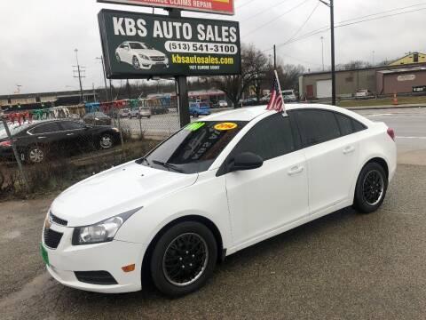2014 Chevrolet Cruze for sale at KBS Auto Sales in Cincinnati OH