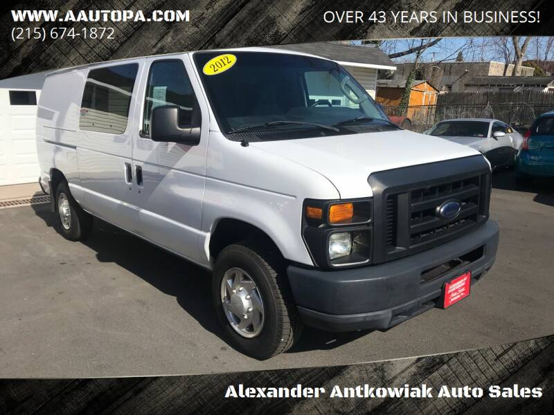 2012 Ford E-Series Cargo for sale at Alexander Antkowiak Auto Sales in Hatboro PA