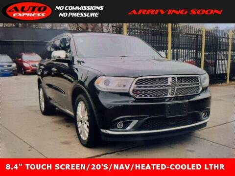2015 Dodge Durango for sale at Auto Express in Lafayette IN