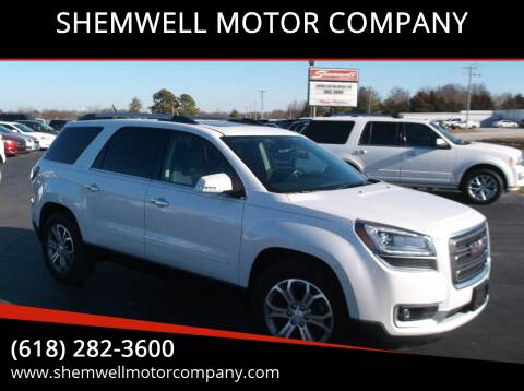 2016 GMC Acadia for sale at SHEMWELL MOTOR COMPANY in Red Bud IL