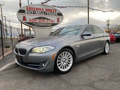 2013 BMW 5 Series for sale at Arizona Drive LLC in Tucson AZ