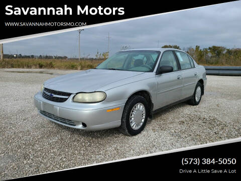 2001 Chevrolet Malibu for sale at Savannah Motors in Elsberry MO