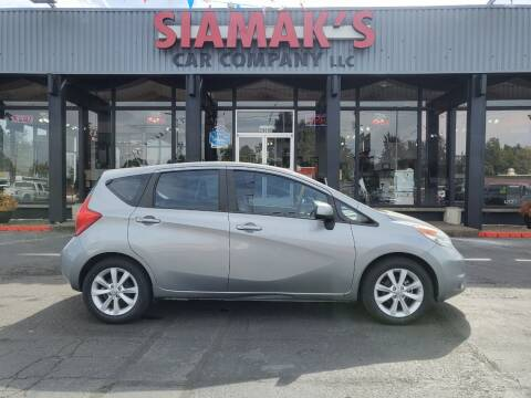 2014 Nissan Versa Note for sale at Siamak's Car Company llc in Salem OR