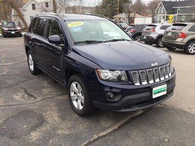 2014 Jeep Compass for sale at Metro West Auto in Bellingham MA