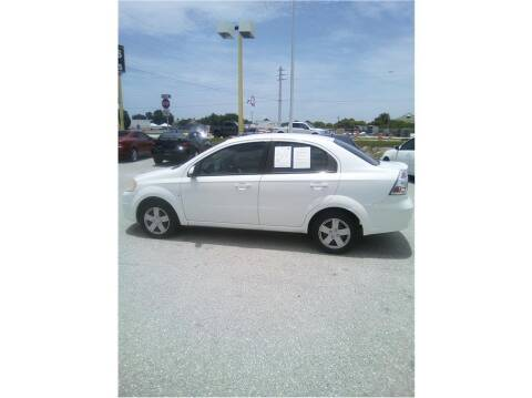 2011 Chevrolet Aveo for sale at My Value Car Sales in Venice FL