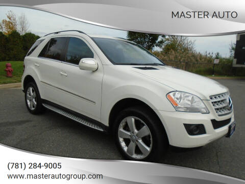 2010 Mercedes-Benz M-Class for sale at Master Auto in Revere MA
