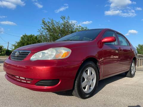 2005 Toyota Corolla for sale at Zoom ATX in Austin TX