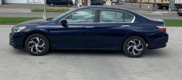 2017 Honda Accord for sale at GOOD NEWS AUTO SALES in Fargo ND